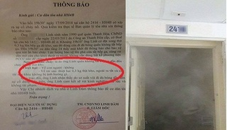 Cười nghiêng ngả với thông báo cháy căn hộ ở chung cư Linh Đàm thiệt hại... 3 lạng thịt