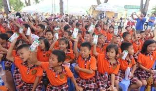 Trao 66.000 ly sữa Vinamilk cho trẻ em tỉnh Vĩnh Phúc nhân dịp tết Trung thu