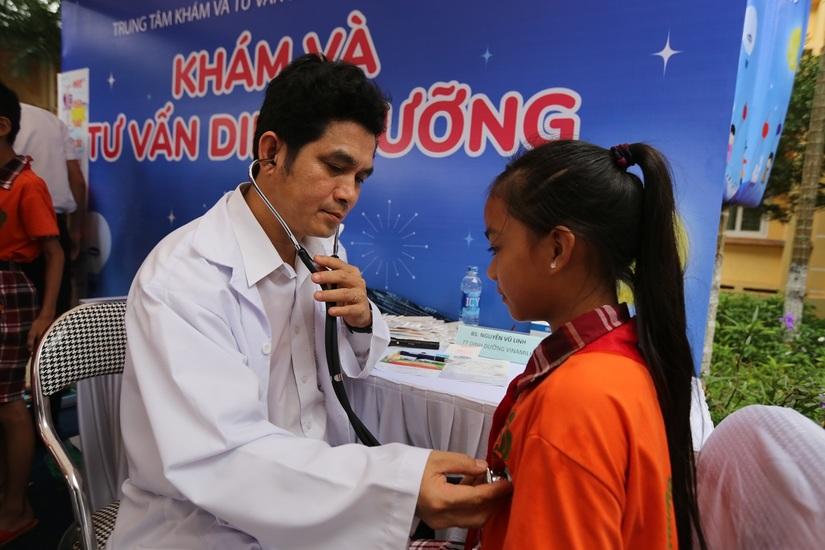 66.000 ly sữa cho trẻ em tỉnh Vĩnh Phúc nhân dịp tết Trung Thu