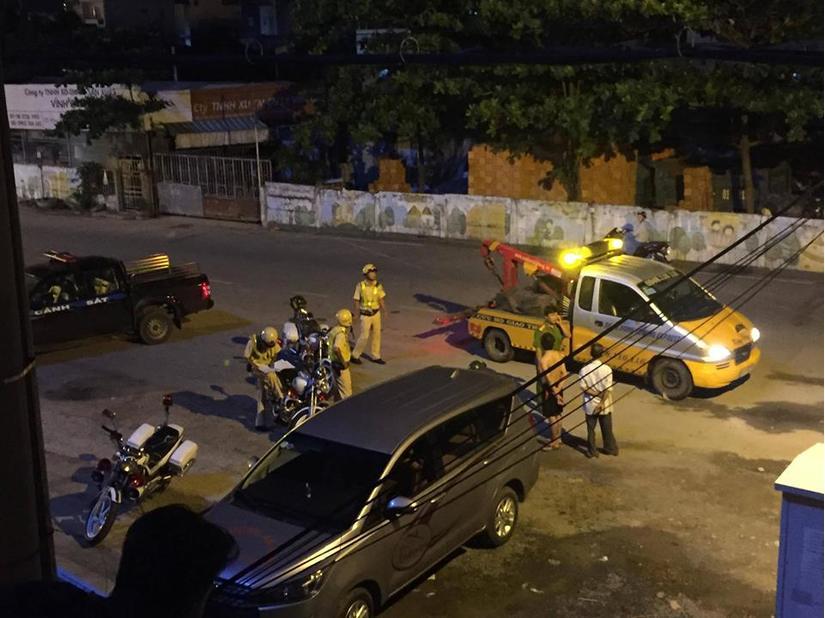 Ngoan cố chống đối CSGT, tài xế ô tô bất ngờ nhảy lầu nguy kịch