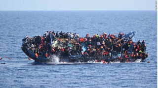 Lật thuyền giữa đêm, ít nhất 27 người thiệt mạng