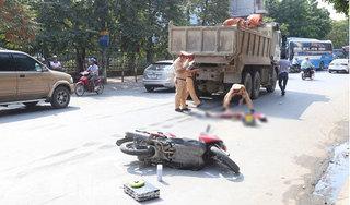 Nhậu say, một phó chủ tịch thị xã đâm vào xe tải tử vong