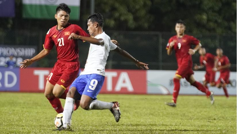 U16 Việt Nam thua bạc nhược trước Ấn Độ