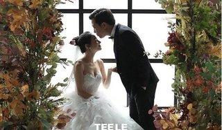 Lộ ảnh cưới đẹp lung linh của Trường Giang - Nhã Phương