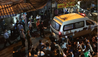 Hai thi thể bị cháy ở Đê La Thành là vợ chồng, con nhỏ viêm phổi đang nằm BV Nhi