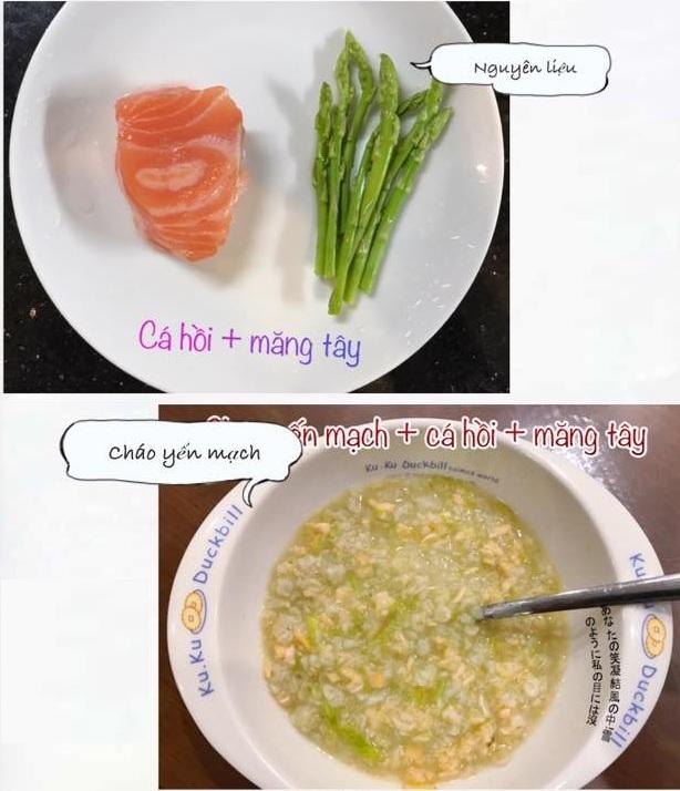 Mẹ đảm nấu ăn dặm ngon miệng, con ăn tì tì và tăng cân đều đặn6