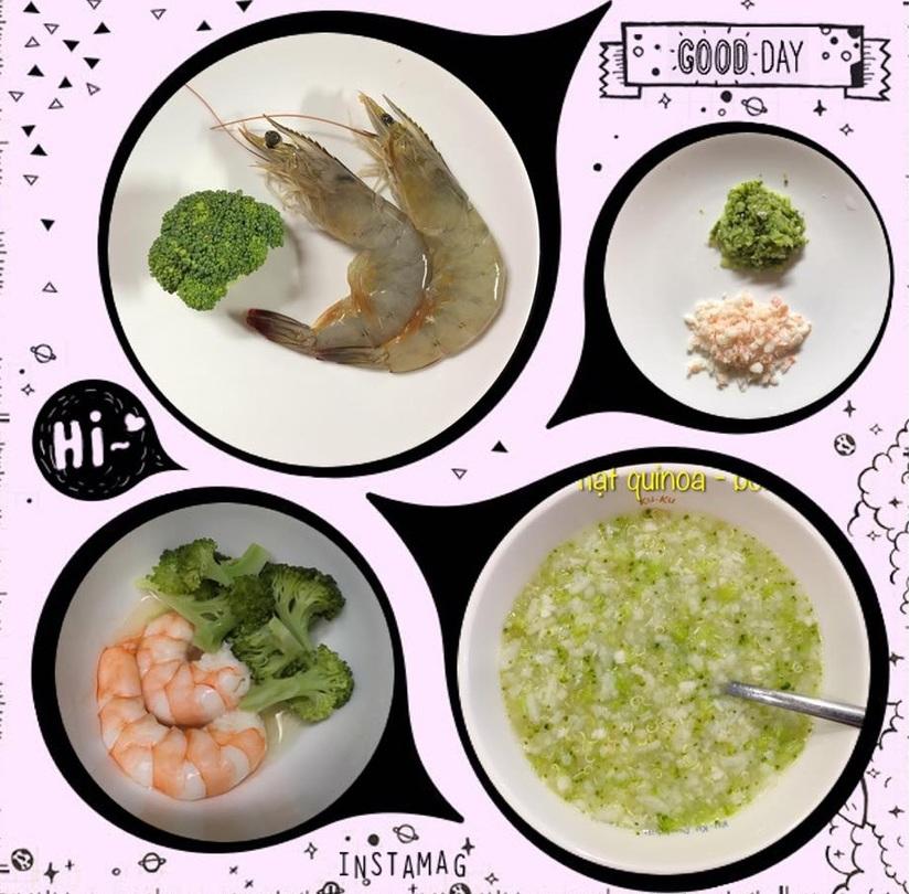 Mẹ đảm nấu ăn dặm ngon miệng, con ăn tì tì và tăng cân đều đặn9