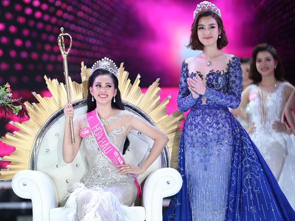 Hoa hậu Tiểu Vy về nhà sau đăng quang5