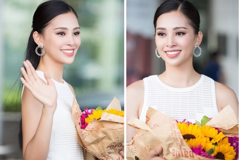 Hoa hậu Tiểu Vy về nhà sau đăng quang2