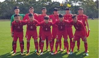 'U16 Việt Nam sẽ đấu sống còn với Indonesia'