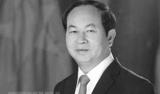 Việt Nam để quốc tang hai ngày tưởng niệm Chủ tịch nước Trần Đại Quang