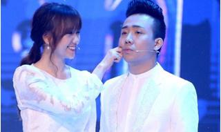 Trấn Thành nổi ghen ngay trên sóng truyền hình chỉ vì Hari Won 'mê mẩn' trai đẹp