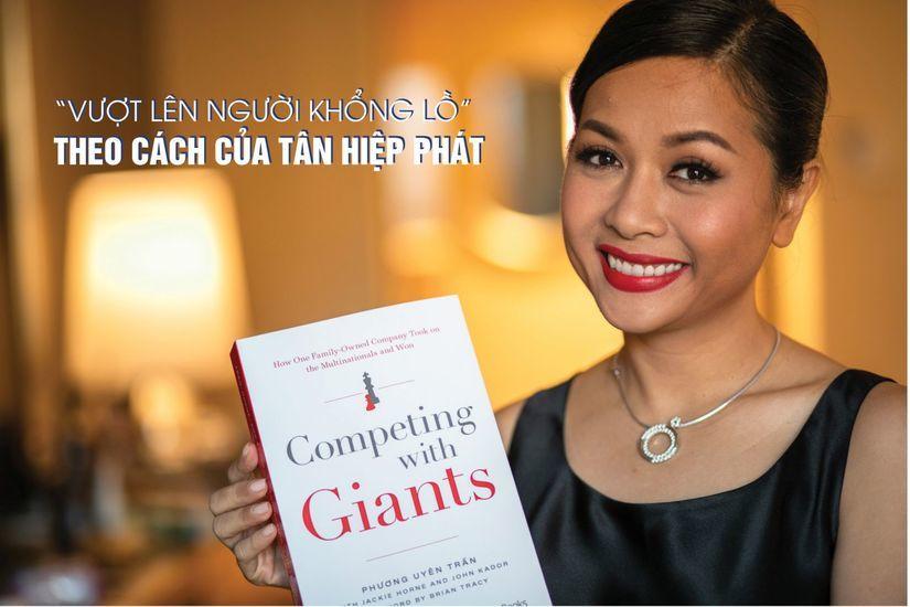 """Sách """"Vượt lên người khổng lồ"""" của Trần Uyên Phương sắp bán tại Việt Nam"""