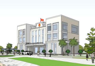 Trụ sở xã, phường Hà Nội mới xây vẫn phải sửa thành 'đồng phục'?
