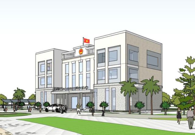 Trụ sở xã, phường Hà Nội mới xây vẫn phải sửa để thành đồng phục?