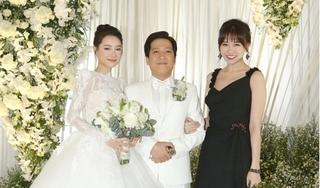 Hari Won nói gì khi Trấn Thành vắng mặt tại đám cưới Trường Giang - Nhã Phương?