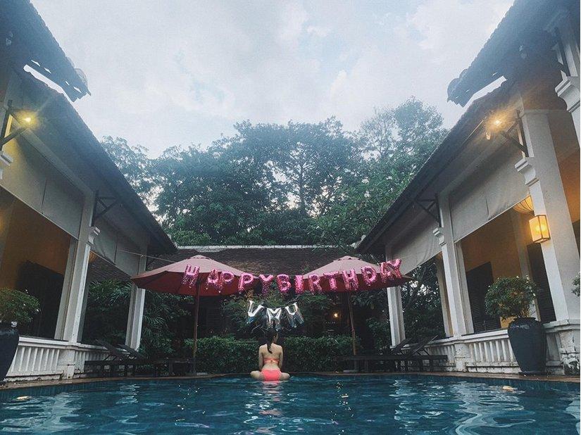 Mừng sinh nhật, Văn Mai Hương khoe ảnh mặc bikini gợi cảm