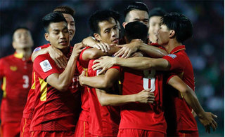 Đội tuyển Việt Nam tiếp tục đón tin vui trước thềm AFF Cup
