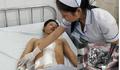 Bị tai nạn giao thông, nam thanh niên nguy kịch vì vỡ gan
