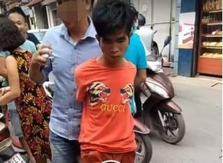 Sa lưới sau 2 lần liên tiếp cướp tiệm vàng giữa ban ngày ở Hà Nội