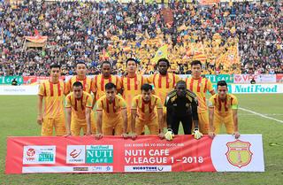 'Siêu phẩm' của cầu thủ Nam Định được đề cử bàn thắng đẹp tháng 9