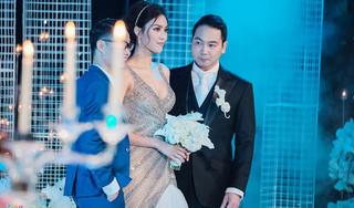 Cô dâu Lan Khuê gợi cảm trong ngày cưới thiếu gia John Tuấn Nguyễn