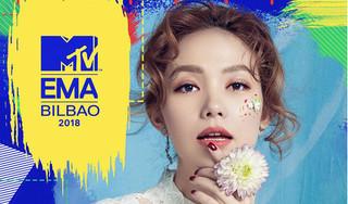 Minh Hằng đại diện Việt Nam tranh tài ở giải MTV EMA 2018