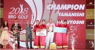 Bế mạc BRG Golf Hanoi Festival 2018: Du lịch Golf Việt nam tạo dấu ấn