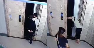 Bố vợ chết thảm chỉ vì con rể táy máy mở cửa thang máy