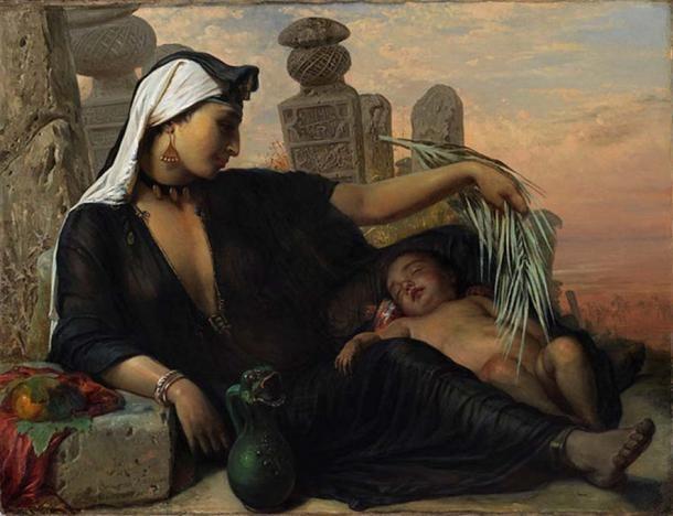 Thử thai bằng lúa thời cổ đại, chính xác không ngờ