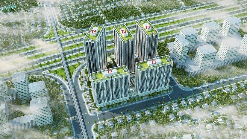 Dự án Thăng Long Victory Phúc Hà Group thế chấp ngân hàng 3