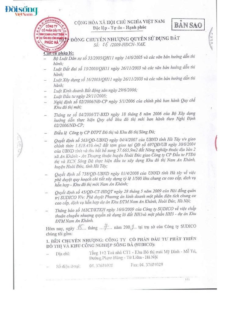 Dự án Thăng Long Victory Phúc Hà Group thế chấp ngân hàng 1