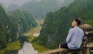 Ngắm vẻ đẹp của 'nàng thơ' Tam Cốc ở Ninh Bình yên ả giữa trời thu