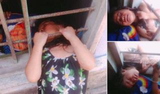 'Chết cười' bé gái mắc kẹt trong khung cửa, cư dân mạng bồi hồi nhớ tuổi thơ dữ dội