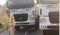 Chống đối CSGT, 14 xe tải dàn hàng trên quốc lộ gây ùn tắc nghiêm trọng