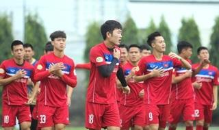Danh sách chính thức 30 cầu thủ được triệu tập lên đội tuyển Việt Nam