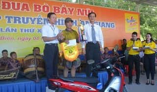 Hội đua bò Bảy Núi tranh Cúp Truyền hình An Giang lần thứ 25