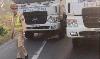 Công an Quảng Ninh ra quyết định phạt 14 xe tải 'làm loạn' trên quốc lộ