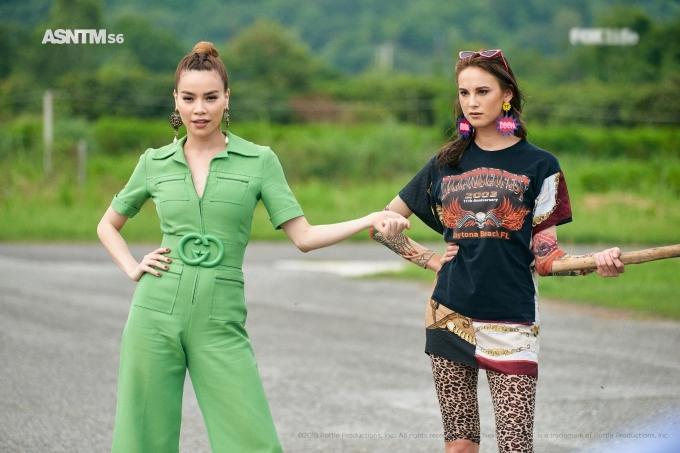 Không chỉ làm giám khảo, bài hát của Hồ Ngọc Hà còn được làm nhạc nền trong Asia's Next Top Model 2018