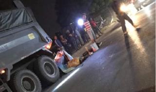 Hưng Yên: Đâm vào đuôi xe tải, người đàn ông tử vong tại chỗ