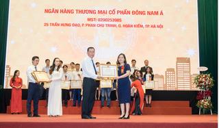 SeABank nhận bằng khen của Bộ Tài chính do
