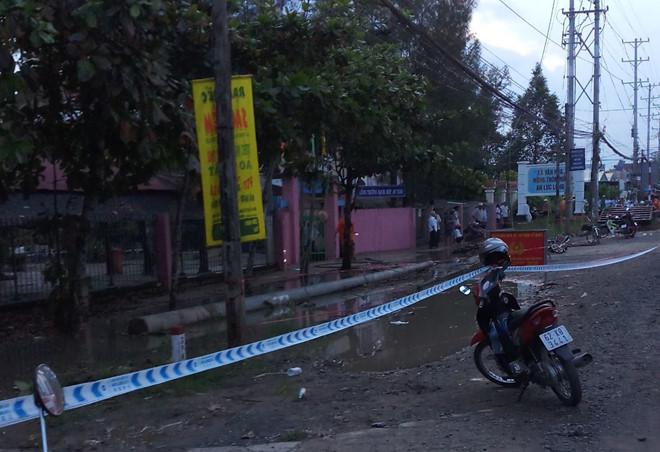 Dây điện đứt trước cổng trường học, hai học sinh tử vong thương tâm 2
