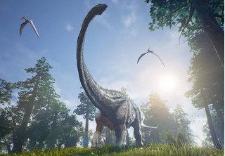 Tìm thấy bộ xương khủng long khổng lồ có niên đại 70 triệu năm