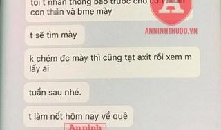 Lộ tin nhắn cay nghiệt từ kẻ trút 'mưa' dao vào bạn gái trên phố Bùi Thị Xuân