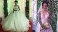 Dân mạng tranh cãi nảy lửa về hình ảnh cô dâu xinh như mộng xăm kín 2 cánh tay