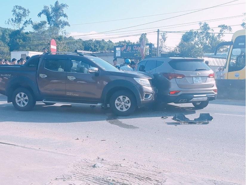 Cố tình va chạm giao thông, hai nhóm thanh niên rút súng, hỗn chiến trên QL1A