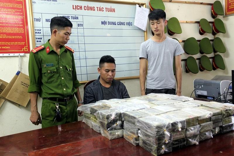 Bắc Kạn: Bắt giữ đối tượng vận chuyển 198 bánh heroin1
