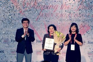 Tổng Giám đốc Vinamilk là người phụ nữ duy nhất được Forbes vinh danh với giải thưởng 'Thành tựu trọn đời'
