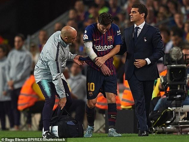 Messi gãy tay, bỏ lỡ Siêu kinh điển với Real Madrid