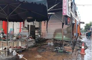 Tiếng kêu cứu ám ảnh của 2 người thiệt mạng trong shop hoa bị cháy